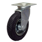 Casters with Air-Filled Wheels / Air-Less Wheels, AIJ/AILJ