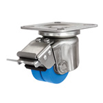 Low Floor Dual Wheel Caster for Heavy Loads HJTB