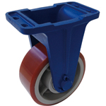 Ductile Caster (for Heavy Loads) (Fixed Wheel) LV Type
