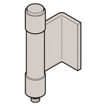 Stainless Steel L Type Back Hinge (2 Pipe) B-1525