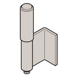Stainless Steel L Type Back Hinge (2 Pipe) B-1520-A