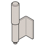 Stainless Steel L Type Back Hinge (2 Pipe) B-1522-A