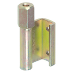 B Type Single Blade Hexagonal Nut Back Hinge B-541-B