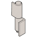 Stainless Steel L Type Back Hinge 1 Type B-1534
