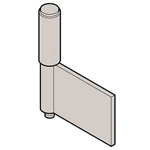 Stainless Steel 2 Pipe Type Processed Hinge B-1528-A