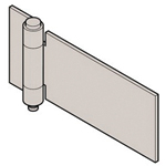 Stainless Steel Butt Hinge B-1545