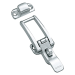 Stainless Steel Hatch Clip with Keyhole C-1297