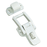 Plastic Hatch Clip with Keyhole CP-297