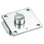 Stainless Steel Rectangular Push Button Lock C-1079