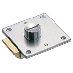 Square Push Button Lock C-79