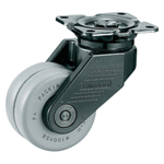 Two Wheeler Swivel Caster without Stopper for Ultra-heavy Loads K-100X