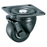 Low Floor Swivel Caster for Super Heavy Weights Without Stopper K-610J