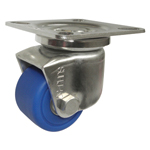 Stainless Steel Low Floor Swivel Caster for Heavy Loads Without Stopper K-1508