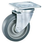 Gray Wheel Swivel Caster Without Stopper K-612J