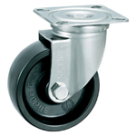 Stainless Steel Heat-Resistant Resin Wheel Swivel Caster Without Stopper K-1580J