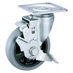 Low Noise Swivel Caster with Stopper K-620JS