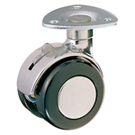 Dual Wheel Swivel Caster with Stopper K-200MYS
