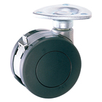 Dual Wheel Swivel Caster with Stopper K-200GS
