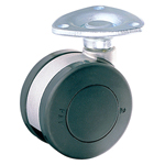 Dual Wheel Swivel Caster Without Stopper K-200G
