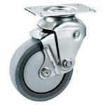 Stainless Steel Cushion Swivel Caster Without Stopper K-1940BBE