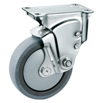 Stainless Steel Cushion Fixed Caster Without Stopper K-1940ER