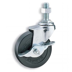 Long Screw Swivel Caster with Stopper K-415EA