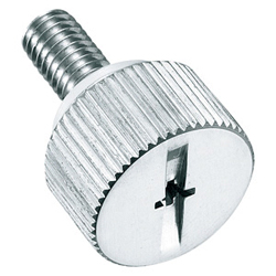 Stainless Steel Cruciform Knurled Knob A-1176-SP