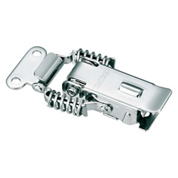 Stainless Steel Catch Clip with Lock C-1007-11
