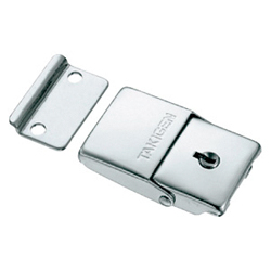Stainless Steel Square Snap Lock with Key C-1083