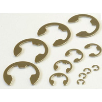 E Type Retaining Ring (E Ring) JIS Standard, Stainless Steel (SUS316)