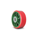 Wheel for Ductile Casters, Wide Type, Urethane Wheel (with Bearing) TULB