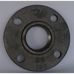 Cast Iron Alloy Flange 10K Black