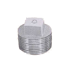 Pipe Fittings - Plug - Unplated