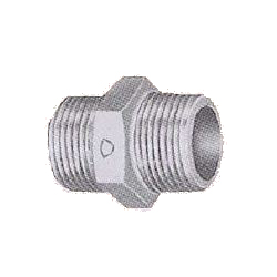Pipe Fittings - Nipple - Plated