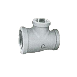 Pipe Fittings - Reducing Tee (with Band) - Plated