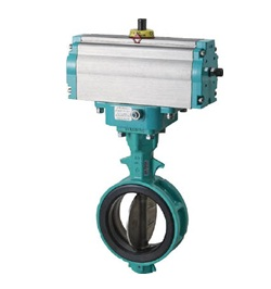 Butterfly Valve 700Z Double Acting Cylinder Model