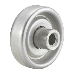 Single Wheel for Wheel Conveyor, Aluminum Wheel of Diameter 38mm