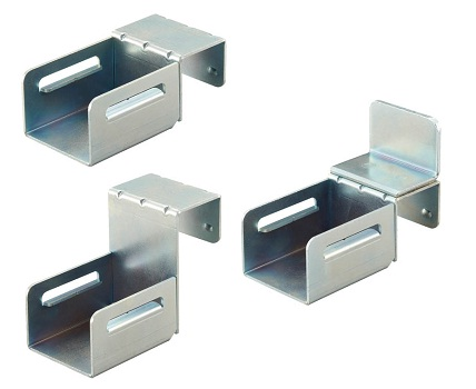 Cassette Type Wheel Conveyor Mounting Bracket for Picking Racks