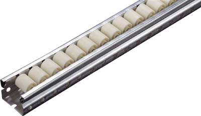 Wheel Conveyor for Picking Racks (Made of Resin, Wheel Diameter: 18 mm)