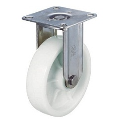 Nylon Caster, Stainless Steel Hardware, Fixed