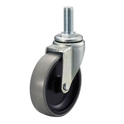 Screw-in Type Urethane Caster, Swivel