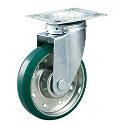 High Tensile Press-Made Urethane Caster with Swivel Hardware