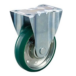 High Tensile Press-Made Urethane Caster with Fixed Hardware