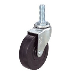 Screw-in Type Caster, Swivel, Long Screw Type