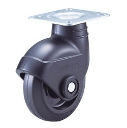 Quiet Caster, Nylon Wheel Rubber Wheel, Swivel