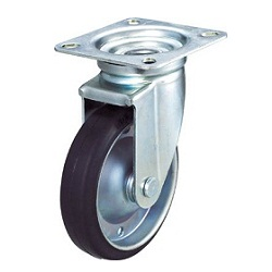 Conductive Rubber Caster, Swivel