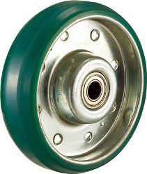 "Press-Made Urethane Caster, ""High Tensile Caster"", Replacement Wheel"