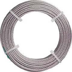 Stainless Steel Wire Rope (Nylon Coated Type)