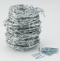 Barbed Wire (Low Carbon Steel)