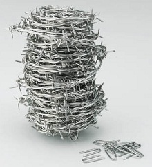 Barbed Wire (Stainless Steel)